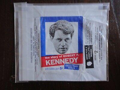 Robert Kennedy - PCGC Philadelphia 1968 - Wrapper - RFK / JFK
