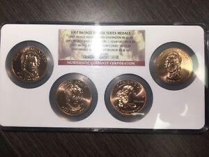 2007 NGC MS66/7 Abigail/Louisa Mule Multi-Coin set Top Pop RicksCafeAmerican.com
