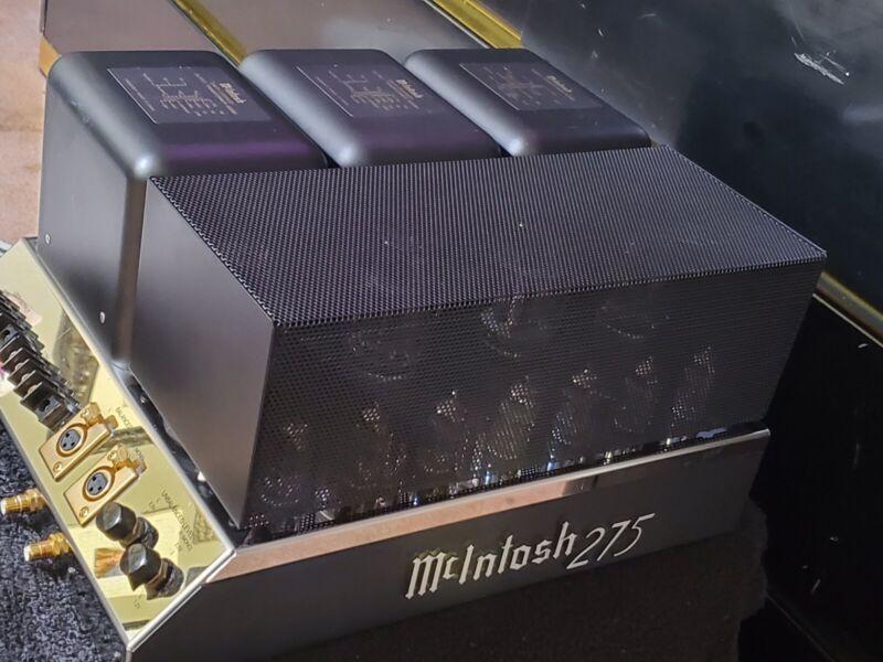 McIntosh MC275 2- Channel Vacuum Tube Amplifier