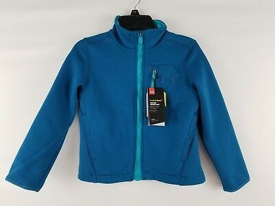 Nwt Boys Under Armour Ua Granite Full Zip Jacket Blue 1280617 Xs  80