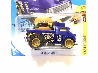 Hot Wheels SUPER CUSTOM Buns Of Steel w/Real Riders TREASURE HUNT #1 Of 1 Made