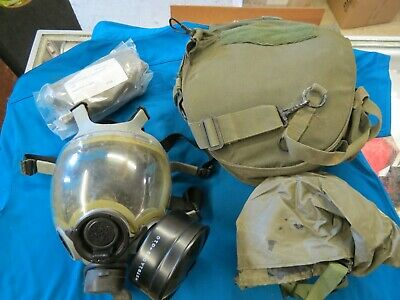 Msa Millennium Cbarca Gas Mask W Hood Size Medium Item 2020-06