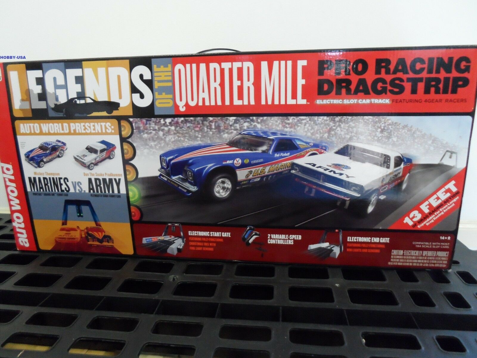 AUTO WORLD Legends Of The Quarter Mile Pro Racing Dragstrip