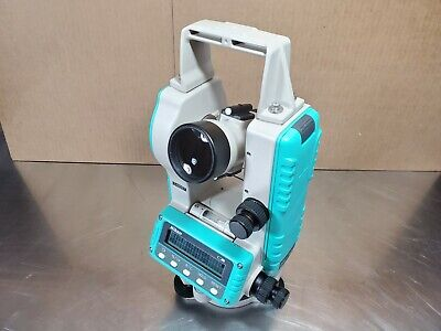 Nikon Ne-101 Digital Theodolite W Case Sold W 60 Day Warranty