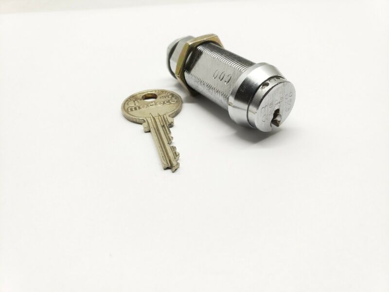medeco 1 1/2 cam lock, 1 key, locksmith