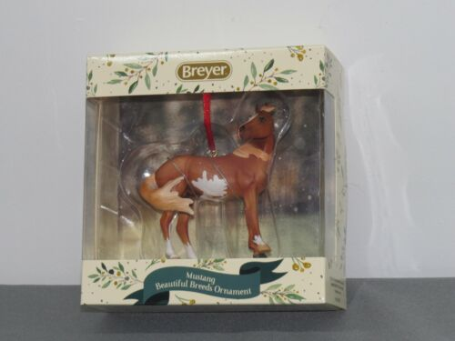 Breyer Horses 2020 Holiday Collection Beautiful Breeds Mustang Ornament 700521