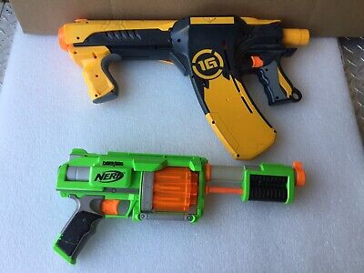 Nerf Dart Tag Quick 16 1G Blaster Fire Fury Gun Pump Action Lot 2