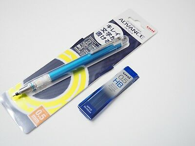 Auto Advance Mechanical Pencil - Uni-Ball Kuru Toga Advance 0.5mm Auto Lead Rotation Mechanical Pencil +Leads, LB