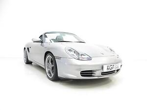 A Legendary Porsche Boxster S 550 Anniversary Edition with Only 20,489 Miles.