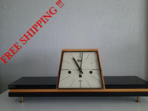 Vintage Hermle de Lux Westminster chime mantel clock  ( 0385 )