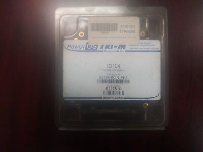 Tri-m Technologies Io104-60in-pbf Pc104 60 Optoisolated Input Board- Nib