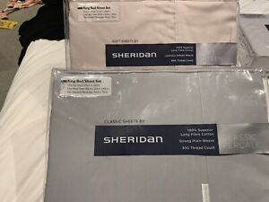 BRAND NEW SHERIDAN SHEETS KING SIZE