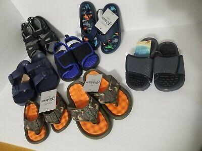 Boy's Sandals, Slip on, Flip Flop kid sizes beach pool or hiker comfortable Beach Kids Flip Flop
