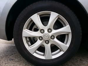 Mazda 3 Maxx Sport alloy wheels and tyres Glenmore Park Penrith Area Preview