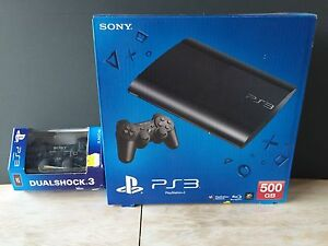 PS3 SuperSlim 500G | 2 Games | 2 Controllers Frenchs Forest Warringah Area Preview