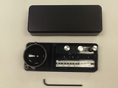 CALIBRON X SUPERIOR TWIN BEAM BALANCE JEWELRY SCALE 7 GRAM MINI POCKET POSTAL