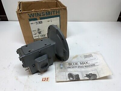 Winsmith 913mdn Worm Gear Speed Reducer Ratio 101 .67hp Newfast Shipping