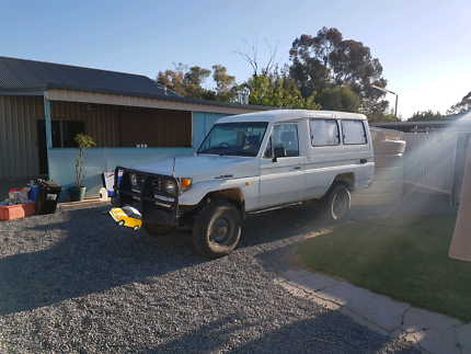 Landcruiser diesel troopcarrier