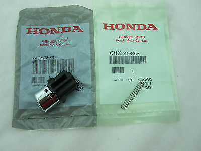 NEW OEM Honda Accord Shifter Handle Shift Button Knob Repair Kit 2003-2005 2pc