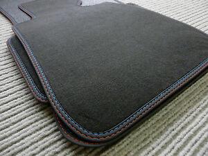 Velours floor car mats suitable for BMW E90 E91 M3 3 series SPORT + FROM BAVARIA