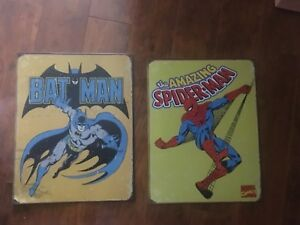 Retro marvel wall hanging Spider-Man and Batman