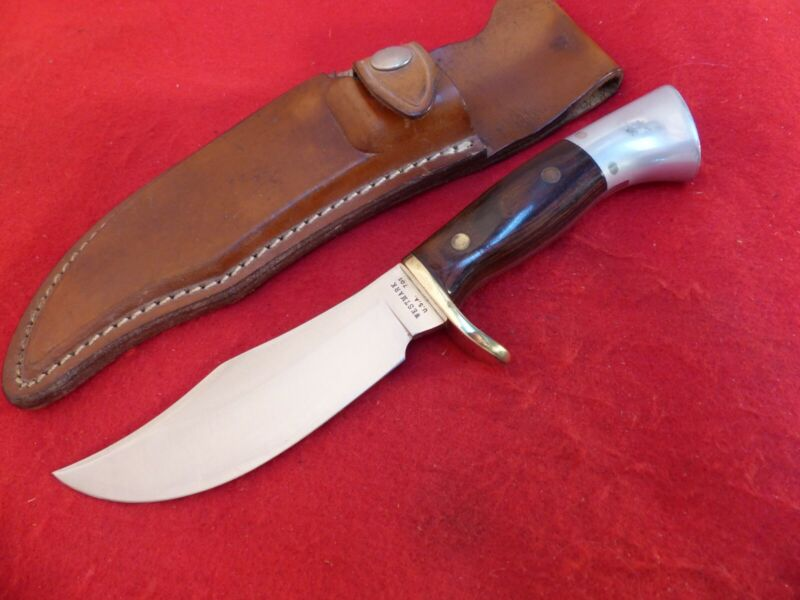 Westmark 701 USA made #17915 near mint Fixed Blade Knife & sheath