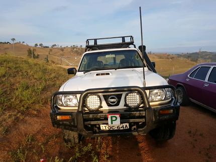 2004 nissan gu 3.0l patrol wagon swap