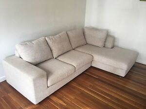 Super comfy L-shaped 2 piece sofa. Seaforth Manly Area Preview
