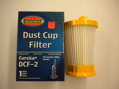 Eureka DCF-2 Hepa Washable Dirt Cup Vacuum Filter, fits model 4680, 4654AT