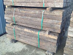 B grade/ 2nd grade railway sleepers delivery service avaible Logan Area Preview
