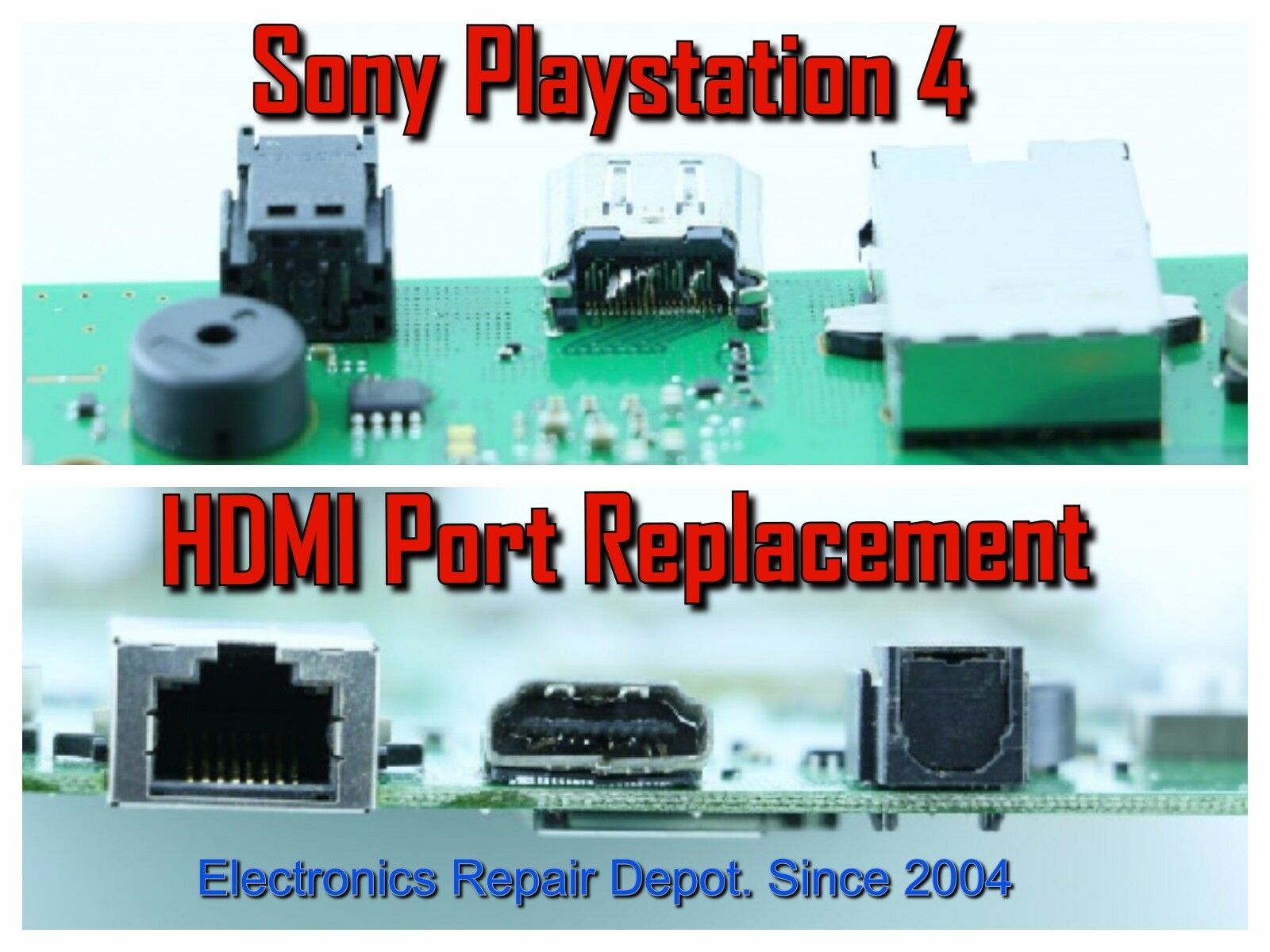 Details about Sony PlayStation 4 PS4 HDMI Port Repair Replacement  (Motherboard Only)