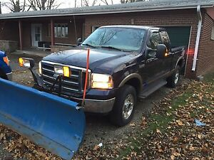 Snow plow with F-250 on SALE
