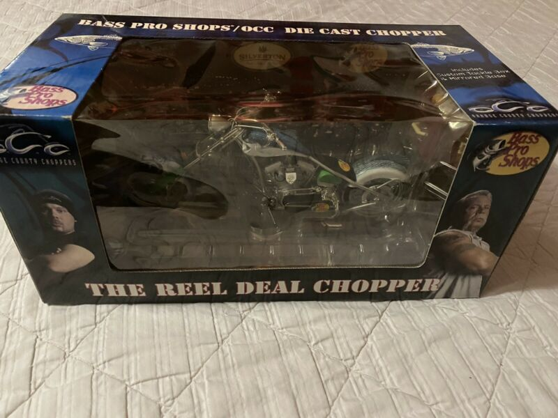 Bass Pro Shops Orange County Choppers The Reel Deal Chopper 1:10 New!