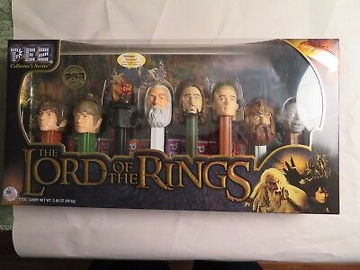 Lord of the Rings Pez Candy Dispenser Set - NIB