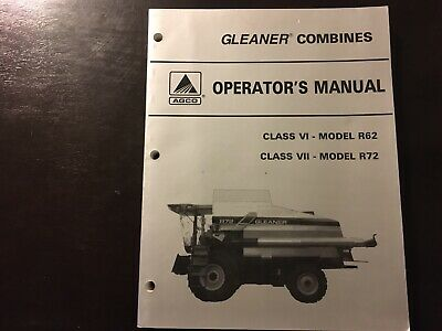 Antique & Vintage Manuals - Manual GleanerTrout Underground