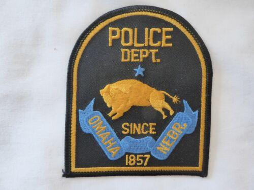OMAHA NEBRASKA POLICE EMBLEM PATCH NEW UNUSED!