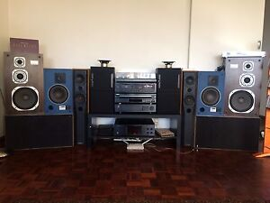 Yamaha stereo system n Jbl n mission speaker n 800 cds Attadale Melville Area Preview