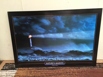 Lighthouse picture print
