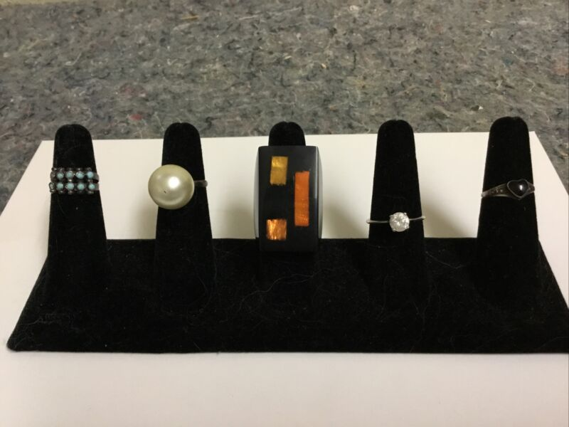 Lot of Assorted Rings-Statement-Some Sterling