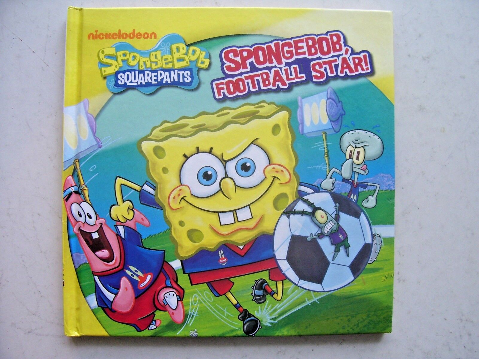 SpongeBob SquarePants, SpongeBob Football Star! by Parragon (Hardback, 2013)