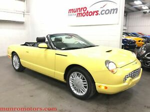 2002 Ford Thunderbird Removable Top Collectible Low Kms