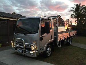 2016 Isuzu NPR Tradepack, Glass Truck (Near New) Canning Vale Canning Area Preview