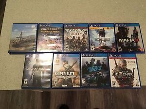 PS4 video games for sale