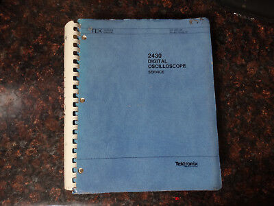 Tektronix 2430 Instruction Manual