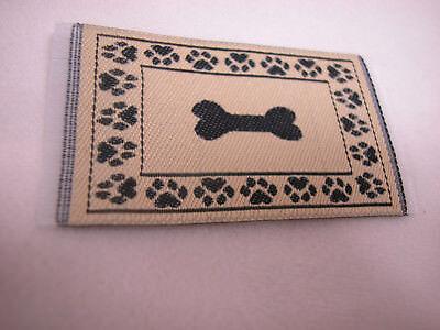 "1.25""x2.5"" #27 Heidi Ott Dollhouse Miniature Floor  Carpet  Woven Rug  #XZ354-27"