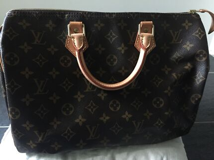 Louis Vuitton Speedy 35 Canvas North Sydney North Sydney Area Preview