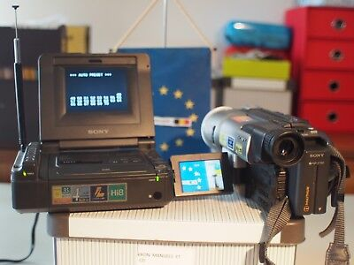 Sony GV-A500 with TV Tuner unit and sony CCD-TRV300e