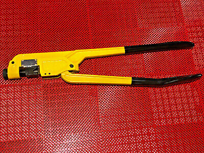 Ideal 88-843 Mechanical Hand-operated Indentor And Crimp Tool 88843