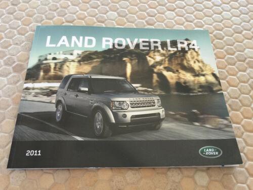 LAND ROVER LR4 5L V8 OFFICIAL PRESTIGE SALES BROCHURE 2011 USA EDITION