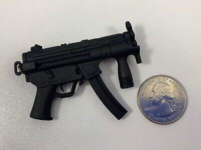 21st Century Toys Ultimate Soldier BLACK MP5 SUBMACHINE GUN 1/6 Scale LOOSE - Toy Submachine Gun